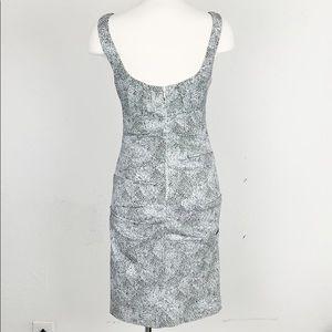 Nicole Miller Dresses - Nicole Miller Black & White Leopard Body Con Dress